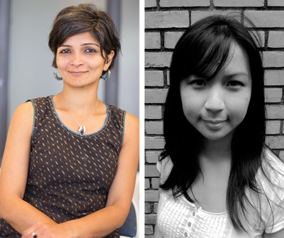 Monica Mody (L) and Cathy Linh Che (R)