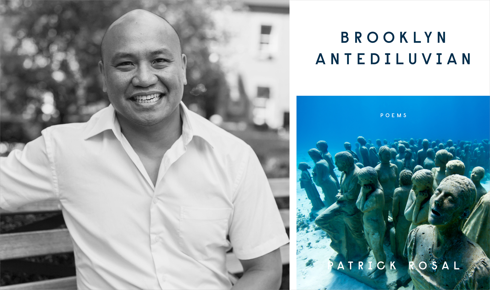 Patrick Rosal and BROOKLYN ANTEDILUVIAN Cover